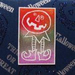 補充インクで作るオリジナルスタンプ台でつくる手作りカード