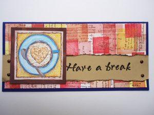 マシュマロペンを使ったカード